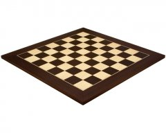 Wenge & Maple Deluxe Chess Board 21.7 Inches