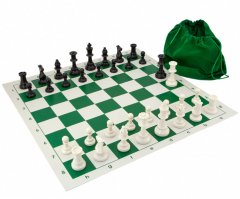 Gambit Tournament Roll Up Chess Set