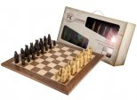 Isle Of Lewis Stone Chessmen and Chess Board Gift Pack