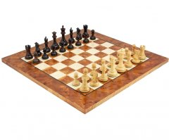 The Sicilian Rosewood & Briarwood Chess Set