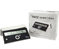 DGT 10168 EASY Chess Clock - Black Beyond