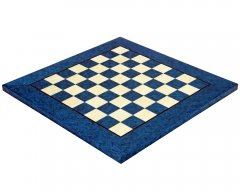 Blue Erable & Elm Luxury Chess Board 17 Inches