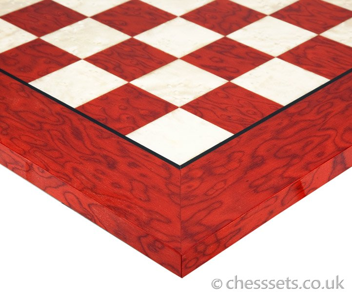 The Magreb Scarlet Chess Set - Click Image to Close