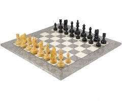 Byzantine Ebony Luxury Chess Set