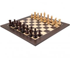 Sandringham Rosewood and Wenge Chess Set