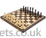 European Olympic Folding Chess Set - Click Image to Close