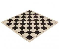 Folding Vinyl Algebraic Chess Board Black
