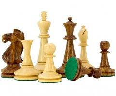 Blackmore Sheesham & Boxwood Chess Pieces
