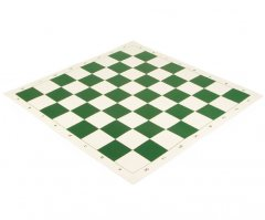 Roll Up Vinyl Algebraic Chess Board Green
