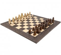 The Isle Of Lewis Tiger Ebony Chess Set