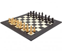 Frankfurt Grand Black Chess Set