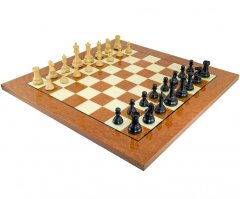 Cheltenham Ebony & Rootwood Grand Chess Set