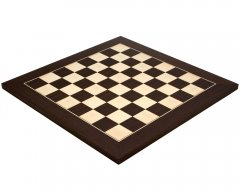 Wenge & Maple Deluxe Chess Board 15.75 Inches