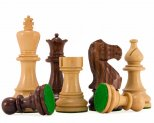 Atlantic Club Rosewood Staunton Chess Pieces 3 3/4 Inches