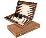 Manopoulos Luxury Ivory Backgammon Set