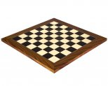 Black Anegre & Palisander Deluxe Chess Board 17.7 Inches