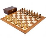 French Knight Sheesham Competition Chess Set