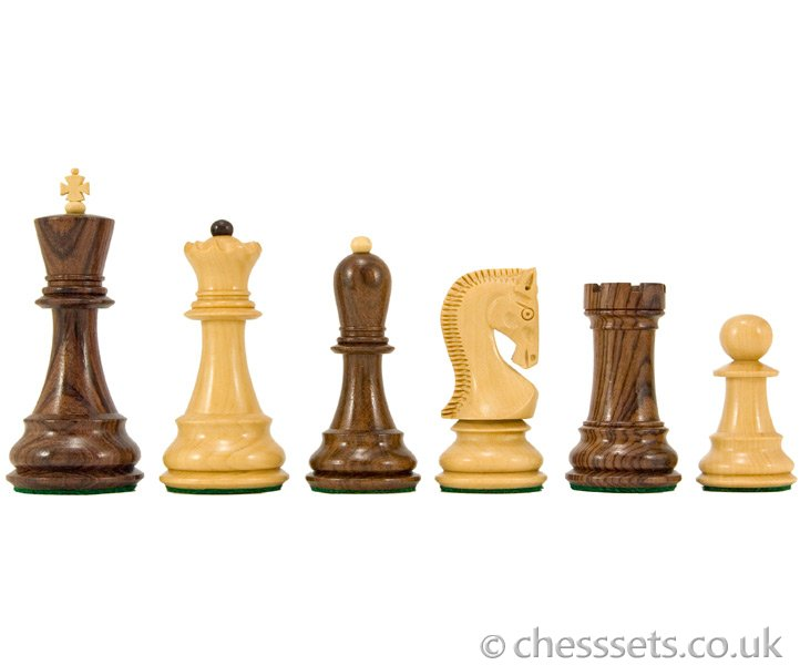 Antipodean Series Rosewood Staunton Chess Pieces - Click Image to Close