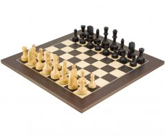 Contemporary Wenge Chess Set