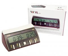 DGT 10102 XL RED Professional Digital Chess Clock