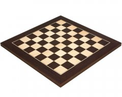 Wenge & Maple Deluxe Chess Board 13.75 Inches
