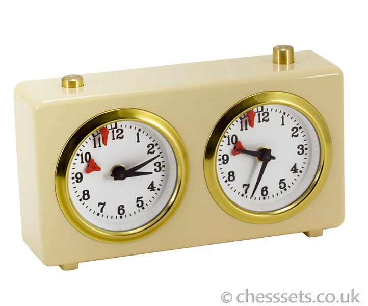 Traditional Analogue Chess Clock - Click Image to Close