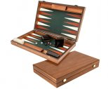 Manopoulos Luxury Green Backgammon Set
