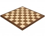 Walnut & Maple Chess Board 15.75 Inches