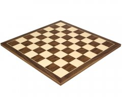 Walnut & Maple Chess Board 19.7 Inches