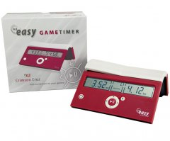DGT 10167 EASY Chess Clock - Crimson Cruz