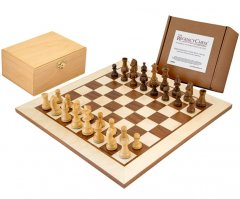 Down Head Sheesham Challenger Chess Set