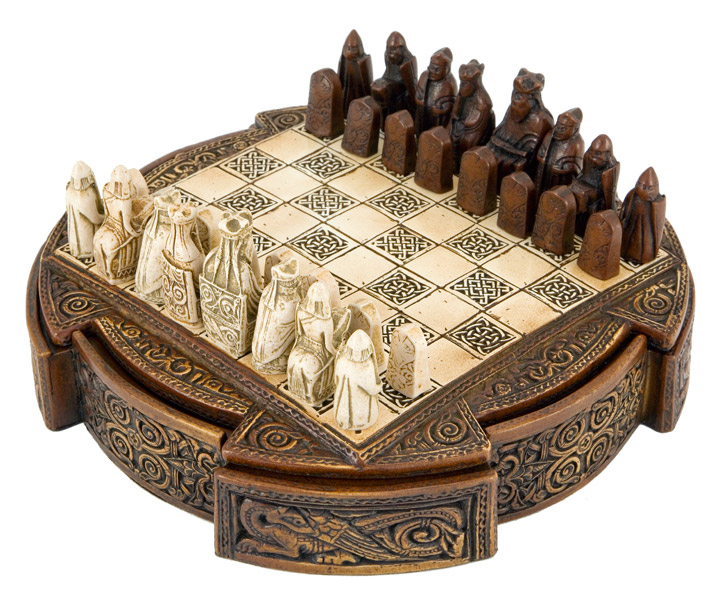 Isle Of Lewis Celtic Chess Set National Museum Scotland
