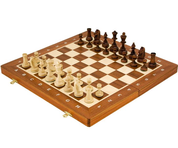 Staunton Style Tournament Chess Set 16 Inches