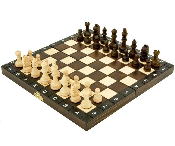 European School Folding Chess Set