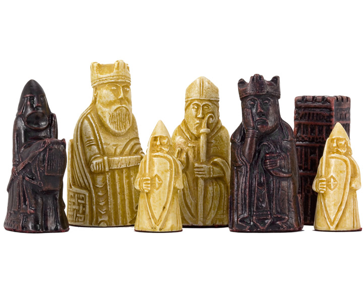 SAC Isle of Lewis Chess Set Chess Pieces Small