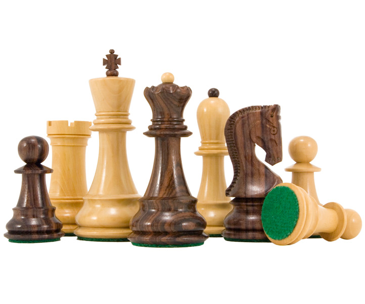 Antipodean Series Rosewood Staunton Chess Pieces