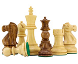 Jacob Knight Sheesham & Boxwood Staunton Chess Pieces