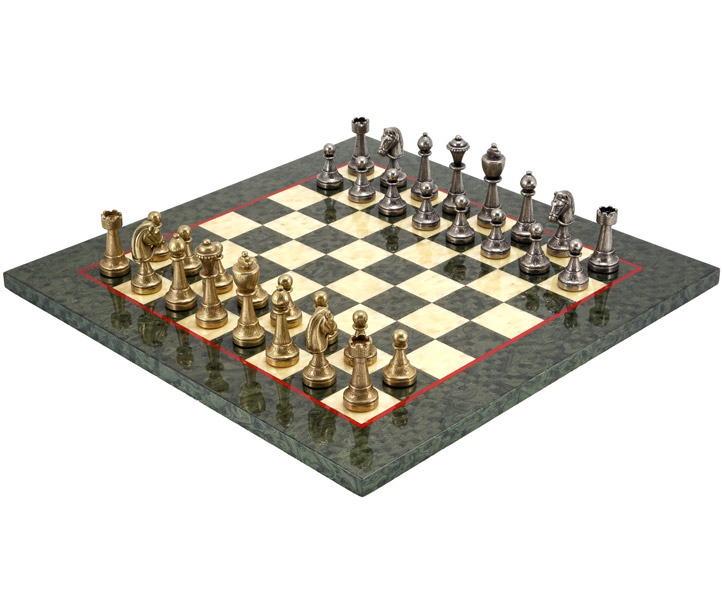 Finnesburg Olive Luxury Chess Set