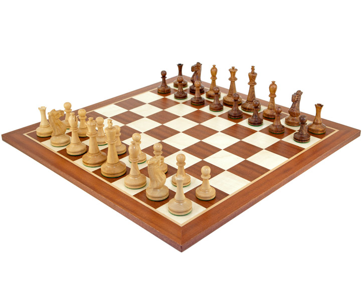 Blackmore Sheesham & Mahogany Chess Set