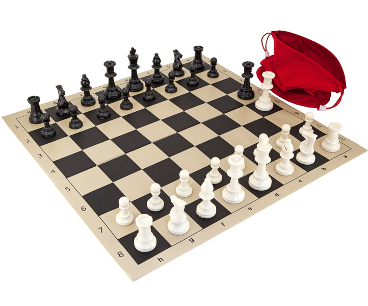 Stratagem Tournament Folding Chess Set