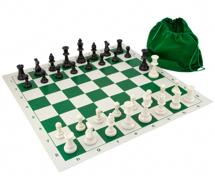 Gambit Tournament Roll Up Chess Set - Click Image to Close
