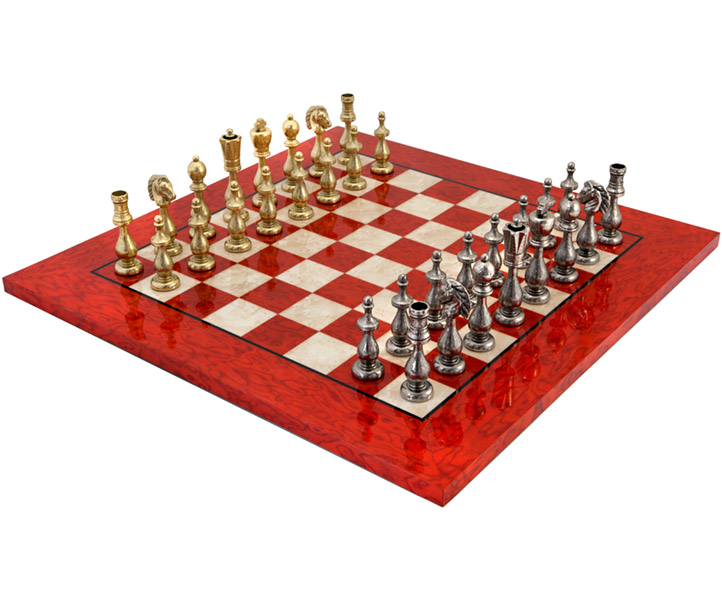 The Magreb Scarlet Chess Set