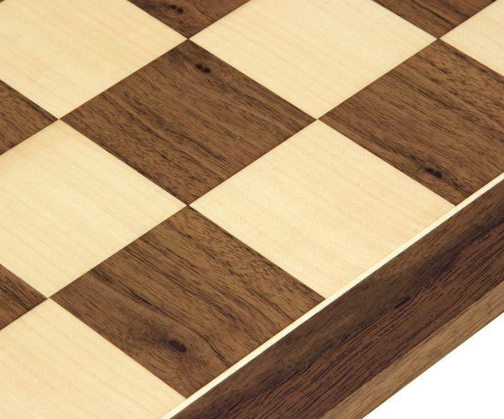 Walnut & Maple Chess Board