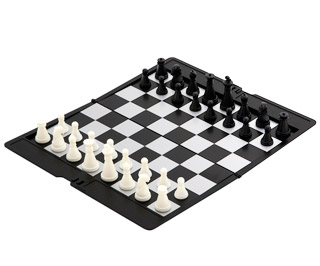 Magnetic slim line travel chess set ph6531 - Inexpensive chess sets ...
