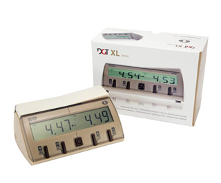 DGT 10103 XL BEIGE Professional Digital Chess Clock