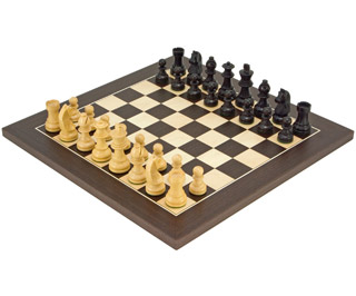 Down head classic wenge deluxe chess set rcpb062 chess sets uk the uk 39 s number one - Deluxe chess sets ...