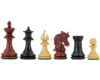 Corinthian Tres Corone Luxury Chess Pieces 2.5 Inches